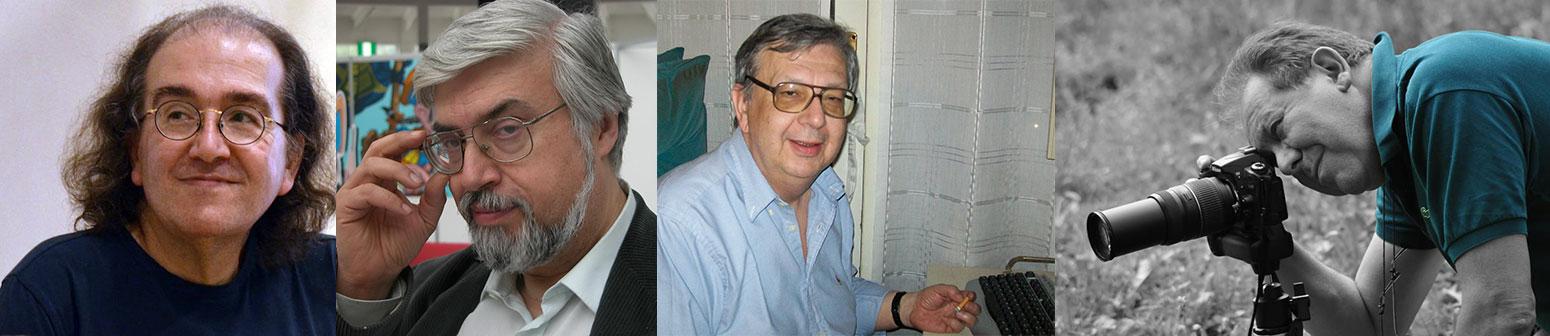 Giuseppe Lippi, Giuseppe Festino, Piero Fiorili, Riccardo Fabiani