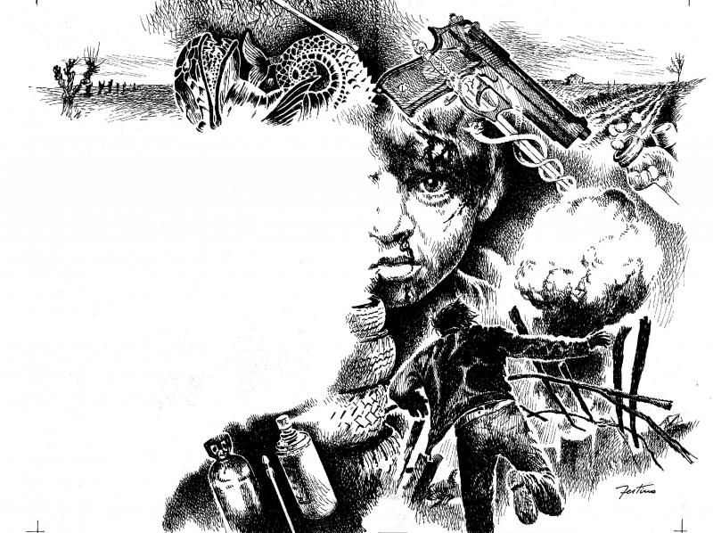 L 39 algoritmo bianco e nero fantasy fantascienza for Disegni bianco e nero paesaggi