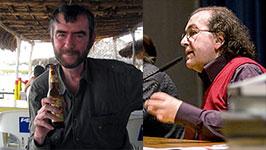 Valerio Evangelisti e Giuseppe Lippi