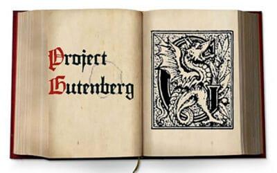 Progetto Gutenberg, una miniera di libri
