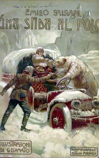 Emilio Salgari: Sfida al Polo