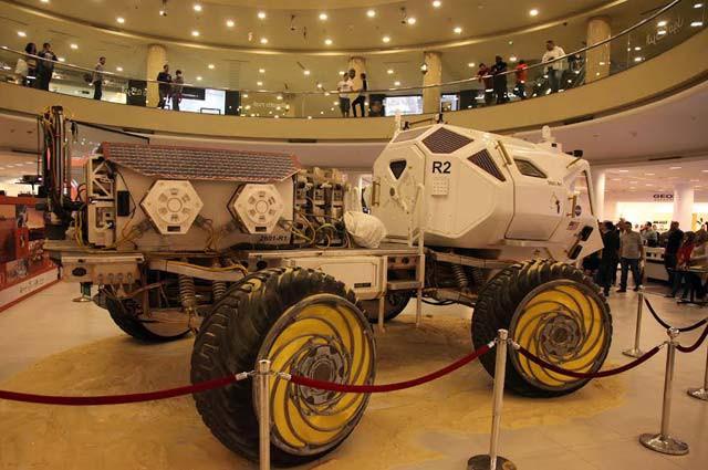 Il rover esposto al RAM